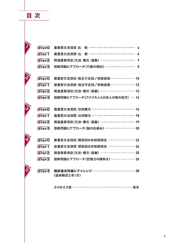 進研WINSTEP 短期集中 高2英語 Vol.3(1月模試に向けて)[改訂版]「」