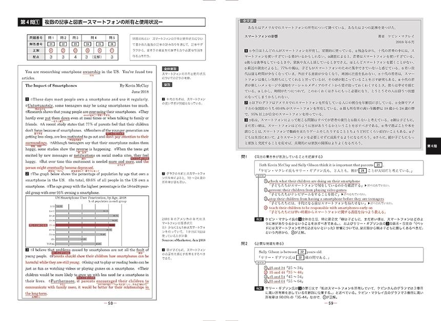 【増刷中】2021共通テスト対策【実力養成】重要問題演習 英語(リーディング)「問題」