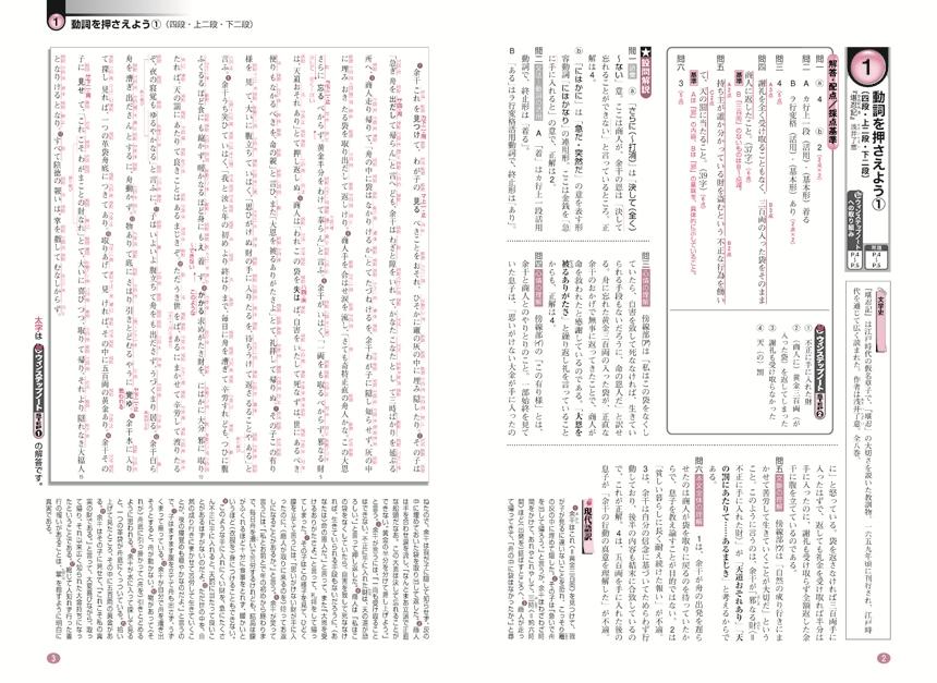 進研WINSTEP 古典1[三訂版]:解答バラ版「問題」